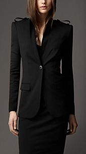 Tailored Epaulette Jacket