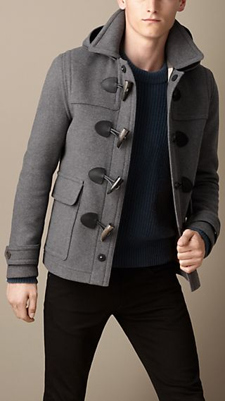 Wool Duffle Jacket