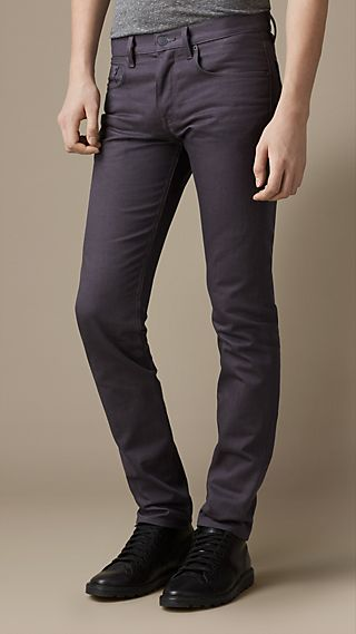 Shoreditch Piece-Dyed Skinny Fit Jeans