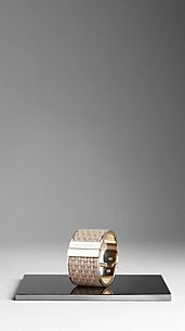 Woven Bridle Leather Cuff