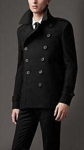 Oversize Wool Pea Coat