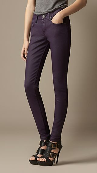 Westbourne Coated Skinny Fit Jeans