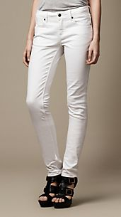 Kensington Optical White Slim Fit Jeans