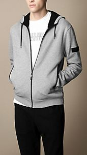 Sport Collection Cotton Jersey Hooded Top