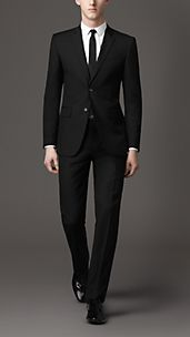 Modern Fit Wool Suit