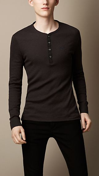 Cotton Wool Blend Henley