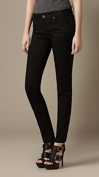 Earlham Black Straight Fit Jeans
