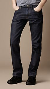 Cavendish Indigo Rinse Straight Fit Jeans