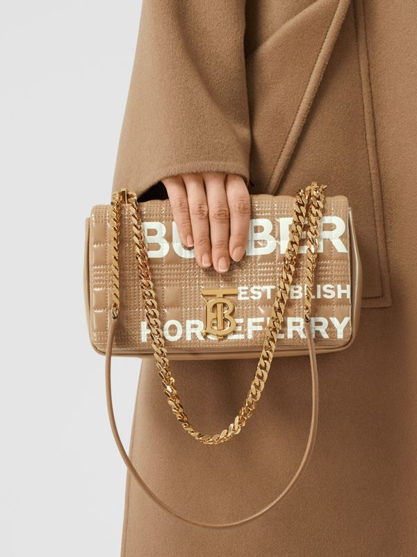 Small Horseferry Print Quilted Lola Bag - Women | Burberry United Kingdom - cell image 2