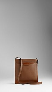 Small London Leather Crossbody Bag