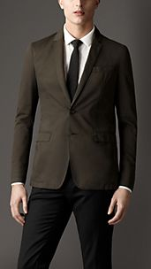 Modern Fit Notch Lapel Jacket