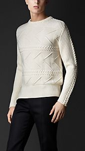 Multistitch Cashmere Sweater