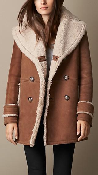 A-Line Shearling Coat
