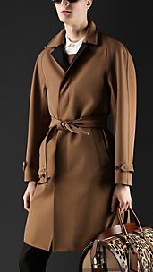 Cotton Gabardine Bonded Trench Coat