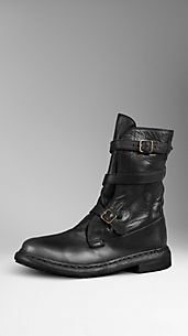 Belt Detail Ankle Boots