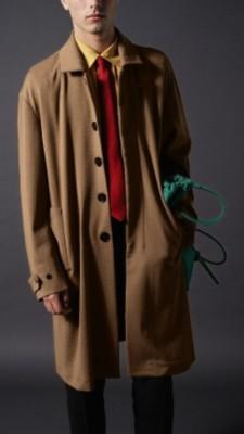 棕色针织包臀裙搭配上衣图片