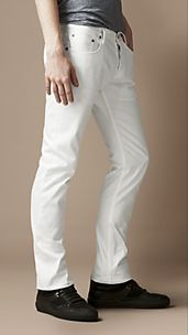 Steadman White Rinse Slim Fit Jeans