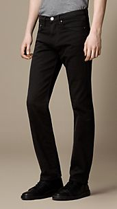 Cavendish Black Rinse Straight Fit Jeans