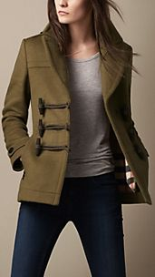 Toggle Detail Pea Coat