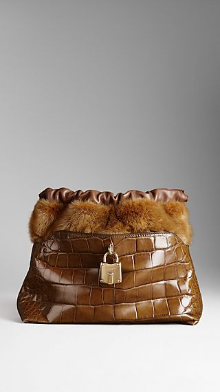 The Little Crush in Alligator and Mink
