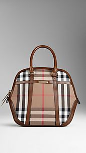 Bolso Orchard mediano de checks House