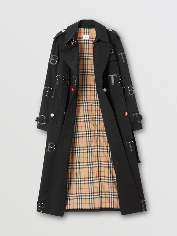 Trench coat Waterloo longo (Preto) | Burberry - cell image 2