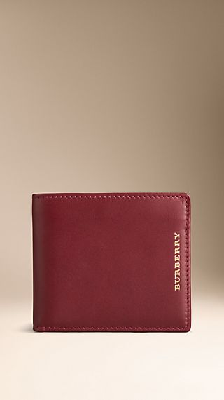 Sartorial Leather Folding Wallet