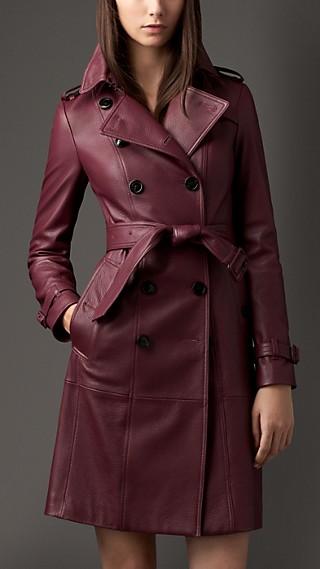 Deerskin Trench Coat