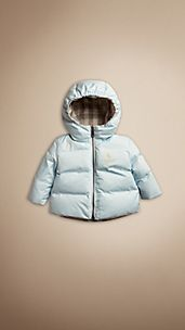 Reversible Check Puffer Jacket