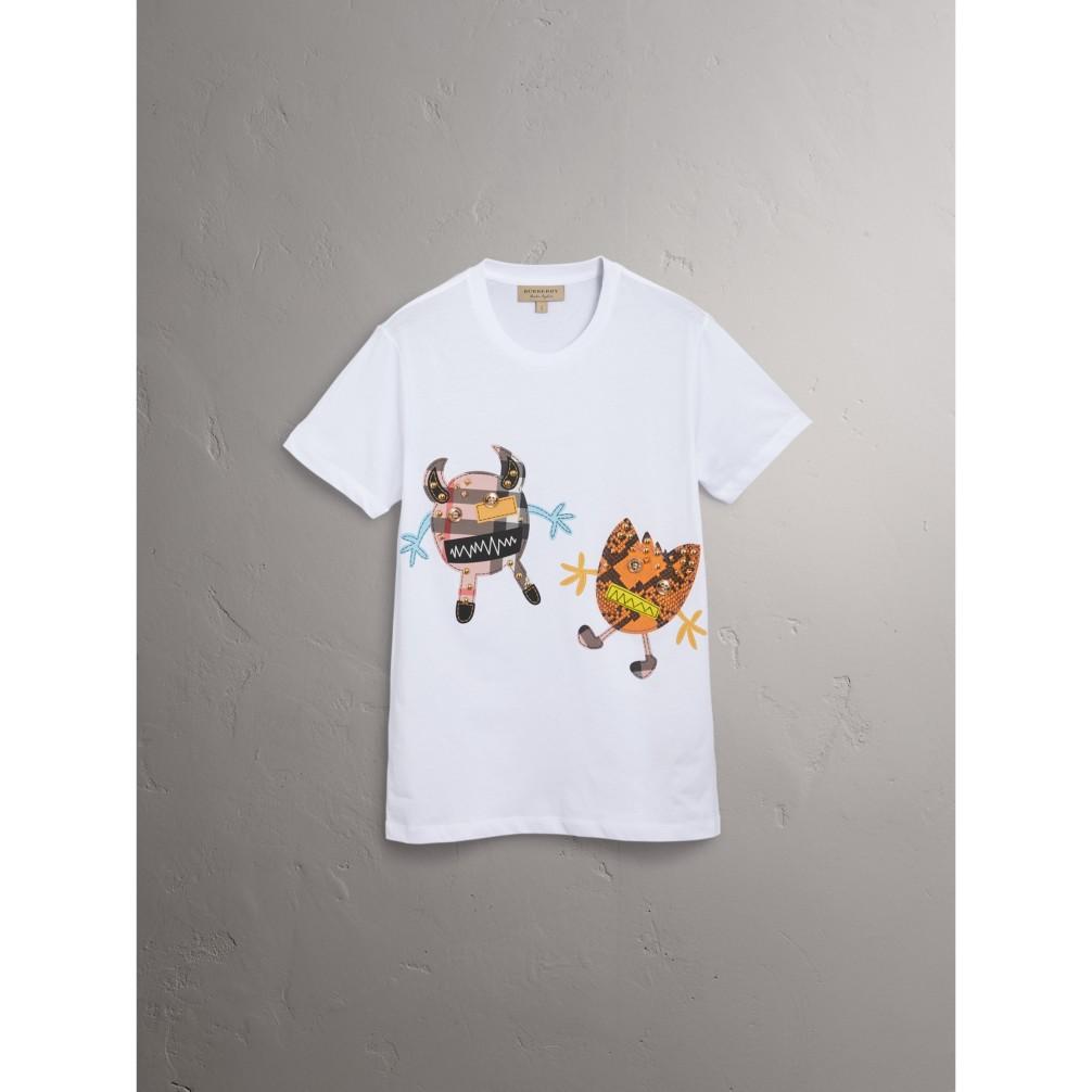 动物图案棉质 t 恤衫 产品图片31