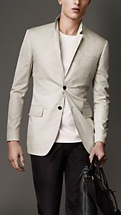 Modern Fit Parachute Cotton Jacket