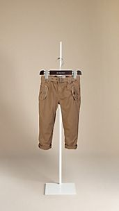 Cotton Military Trousers