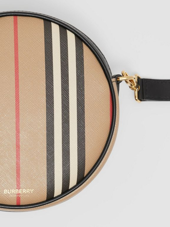 Icon Stripe E-canvas Louise Bag in Archive Beige | Burberry - cell image 1