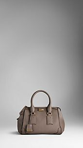 Medium Heritage Grain Leather Tote Bag