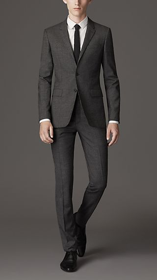 Travel Tailoring Wool Prince of Wales Check Suit