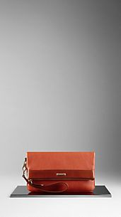 London Leather Wristlet