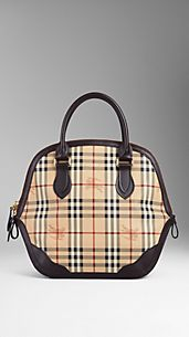 Bolso Orchard mediano de checks Haymarket