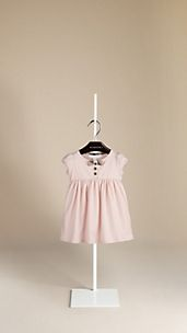 Bow Detail Cotton Dress