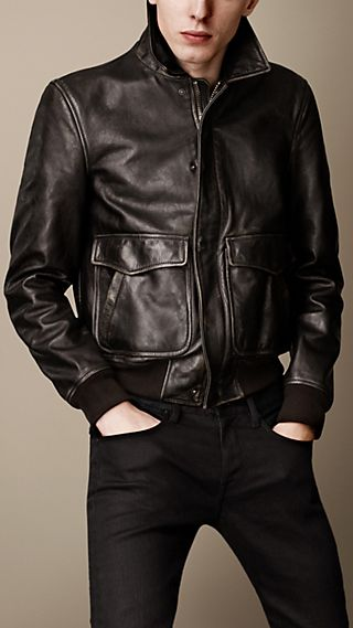 Airforce Leather Blouson