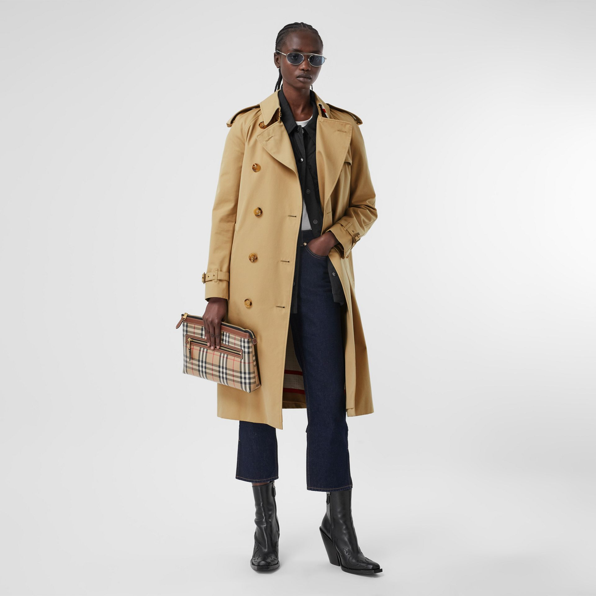 Archive Scarf Print-lined Trench Coat - Women | Burberry - gallery image 6