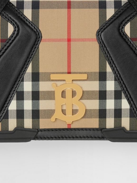 Small Appliqué Vintage Check Lola Bag in Archive Beige - Women | Burberry Australia - cell image 1