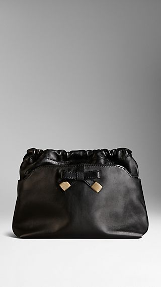 The Little Crush in Nappa Leather with Bow