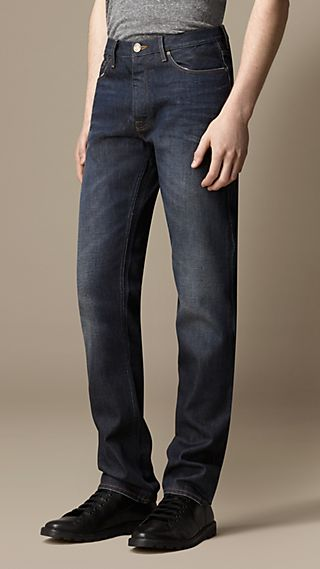 Swaine Resin Sprayed Tapered Fit Jeans
