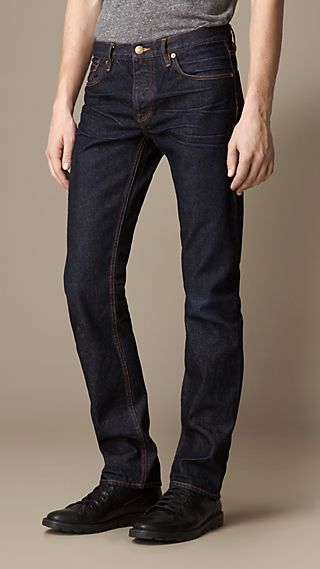 Steadman Hand-Sanded Slim Fit Jeans