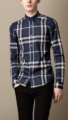男款衬衫   burberry 博柏利