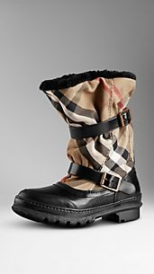 Botas de nieve de checks House