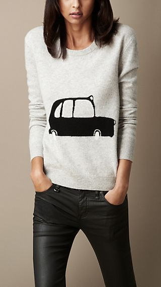 Taxi Wool Cashmere Sweater