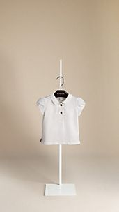 Puff Sleeve Polo Shirt