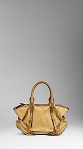 Medium Nubuck Bridle Leather Tote Bag