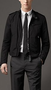 Technical Cotton Blouson